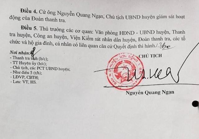 Thanh tra đột xuất vụ phó chủ tịch huyện bị tố vẽ ra chuyện để hành dân! - Ảnh 2.