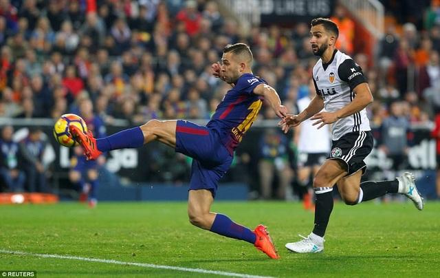 Barcelona luôn gặp khó khăn khi làm khách đến sân Mestalla của Valencia