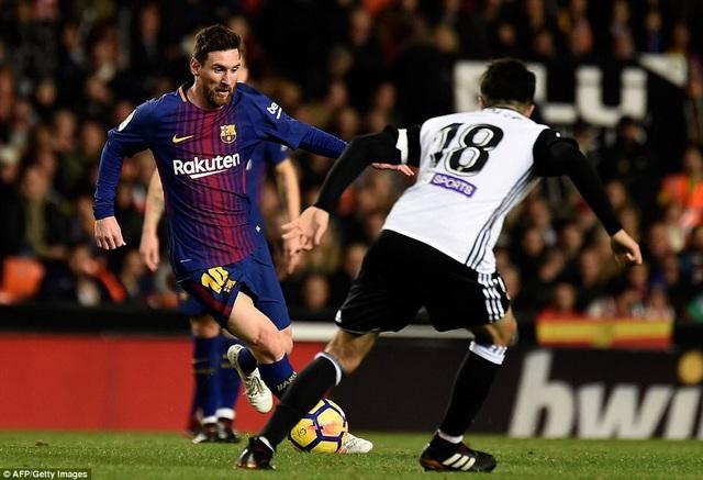 Barcelona cần sự chói sáng của Messi để đánh bại Valencia ở vòng 8 La Liga