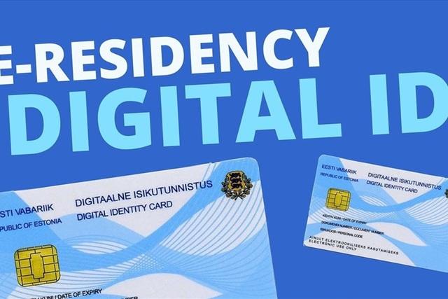 Mẫu thẻ căn cước điện tử (ảnh: ybox.vn).