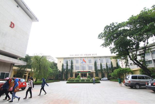 Trường Đại học Sư phạm, Đại học Huế - nơi xảy ra vụ việc.