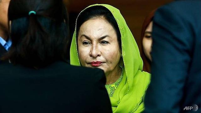 Cựu Đệ nhất phu nhân Malaysia Rosmah Mansor (Ảnh: AFP)