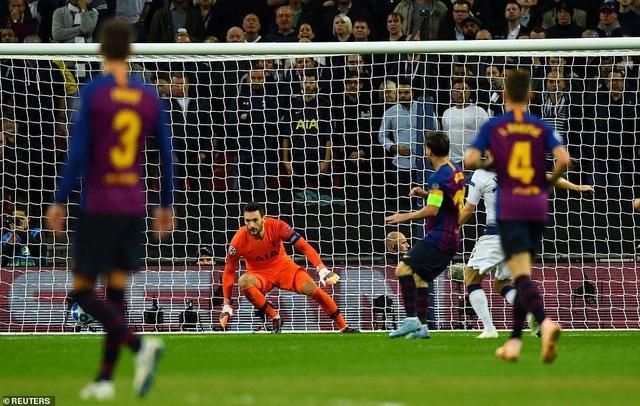 Tình huống Messi ấn định chiến thắng 4-2 cho Barcelona