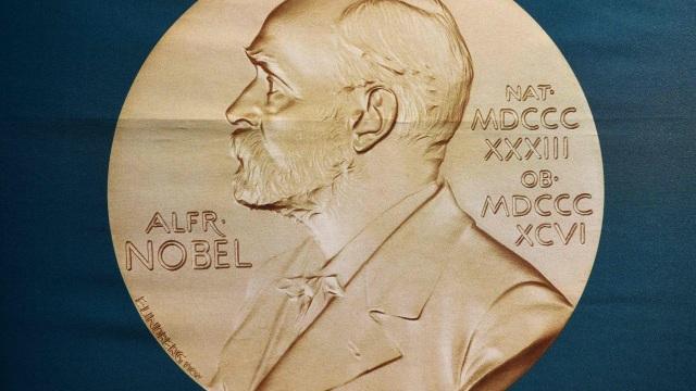 Chân dung nhà khoa học Alfred Nobel (Ảnh: AFP)