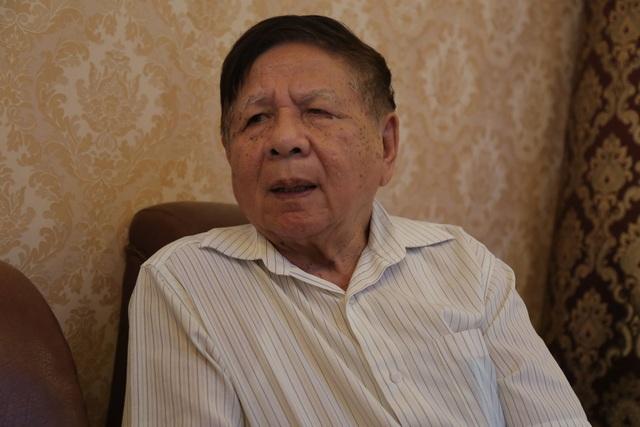 PGS Trần Xuân Nhĩ - nguyên Thứ trưởng Bộ GD&ĐT.