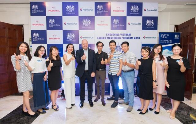 Hội thảo khởi động chương trình định hướng nghề nghiệp Chevening Vietnam Career Mentoring Program 2018.