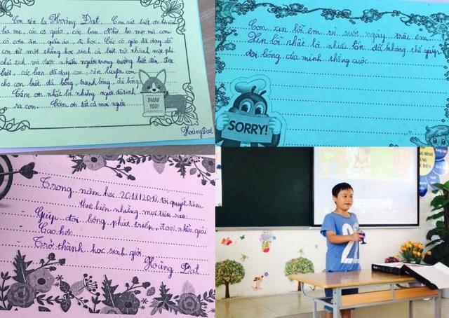 Cảm ơn /Xin lỗi/ Mục tiêu của con trẻ là những điều bố mẹ lớp 5A2, Trường tiểu học Đô thị Sài Đồng, Hà Nội nhận được trong buổi họp phụ huynh