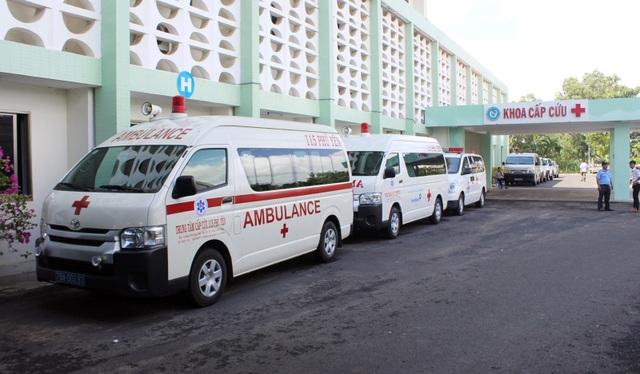 Trước đây, Phú Yên chỉ có 1% người bệnh được cấp cứu ngoại viện bằng xe cứu thương