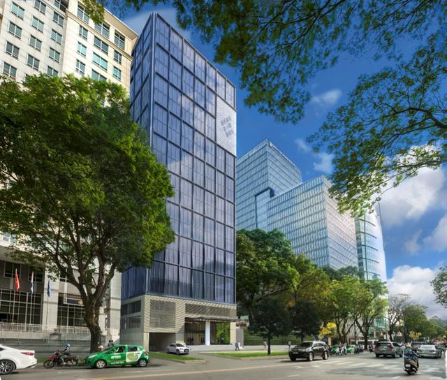 Tòa nhà Hữu Nghị - Friendship Tower tại 31 Lê Duẩn, Quận 1, TP.HCM dự kiến hoàn thiện đầu năm 2020