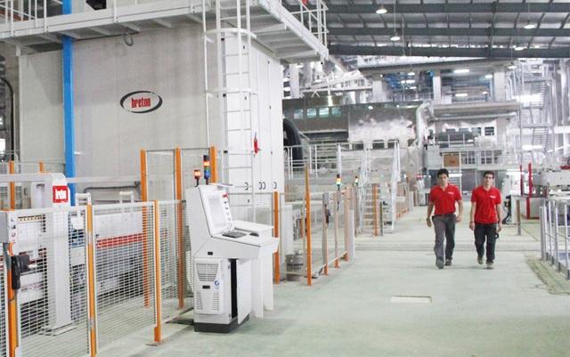 Trên cơ sở công nghệ được chuyển giao từ hãng Breton (Ý), VICOSTONE đã nghiên cứu, áp dụng thành công bí quyết công nghệ độc đáo, riêng có với những sản phẩm độc đáo, khác biệt và có tính dẫn dắt, định hướng thị trường