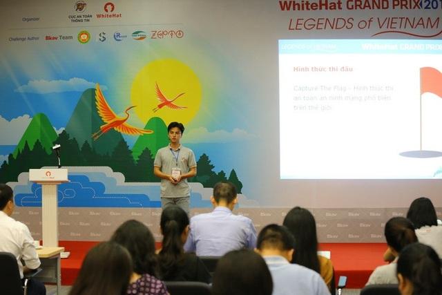 Nguyễn Hữu Cường, Trưởng ban tổ chức cuộc thi WhiteHat Grand Prix 2018.