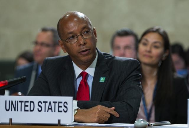 Đại sứ Mỹ về Giải trừ Quân bị Robert Wood (Ảnh: US Mission in Geneva)