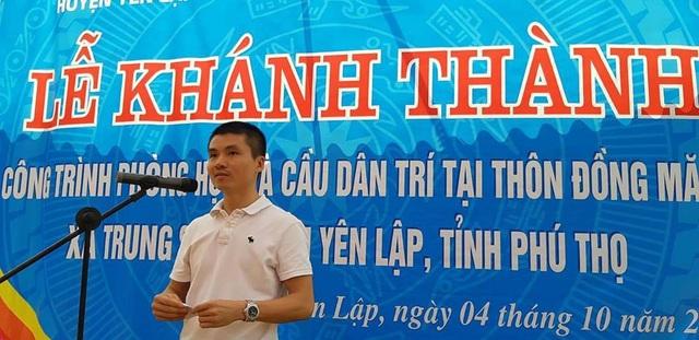 Khánh thành công trình phòng học và cầu Dân trí tại điểm trường Đồng Măng, Phú Thọ - Ảnh 4.