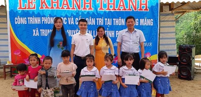 Khánh thành công trình phòng học và cầu Dân trí tại điểm trường Đồng Măng, Phú Thọ - Ảnh 8.