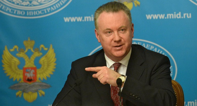 Ông Alexander Lukashevich, Đại sứ thường trực của Nga tại Tổ chức An ninh và Hợp tác châu Âu (OSCE) (Ảnh: Sputnik)