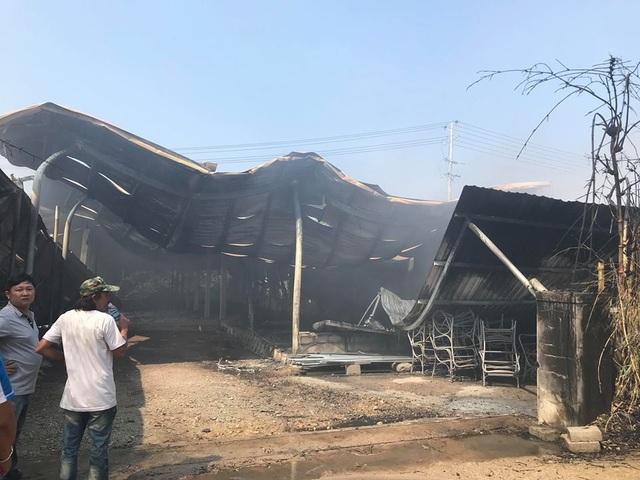 Đám cháy cơ bản được dập tắt nhưng hậu quả thiệt hại rất lớn.