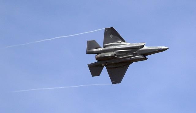 Máy bay chiến đấu F-35 (Ảnh: AFP)