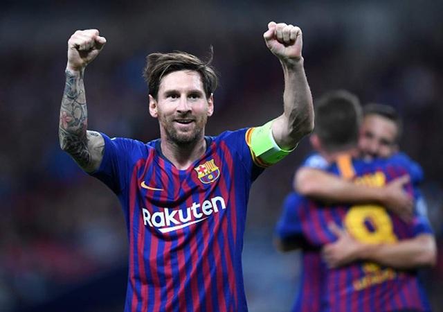 Messi sáng rực rỡ trong trận đấu với Tottenham