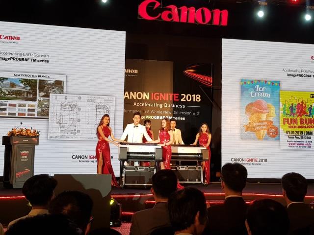 Canon ra mắt dòng máy in khổ lớn cho doanh nghiệp vừa và nhỏ tại Việt Nam - 1
