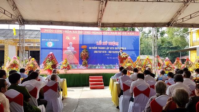 HTX Duy Sơn II kỷ niệm 40 năm ngày thành lập