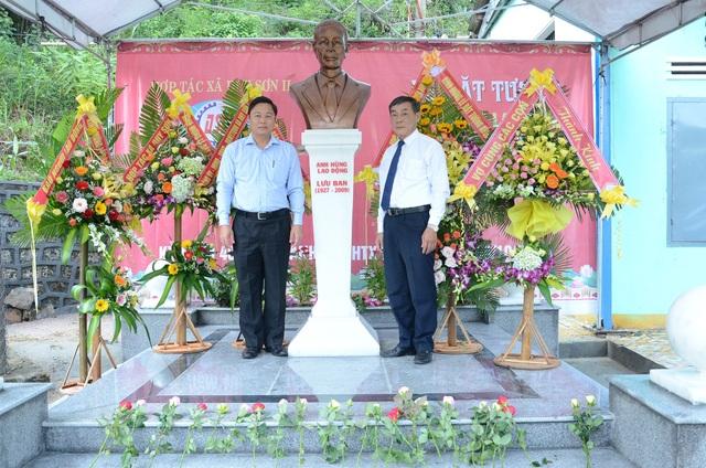 Lãnh đạo tỉnh Quảng Nam tôn vinh Chủ nhiệm HTX đầu tiên của tỉnh