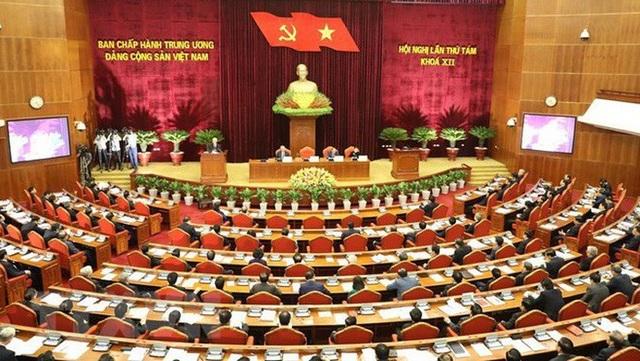 Hội nghị TƯ 8 đã hoàn thành chương trình nghị sự 5 ngày.