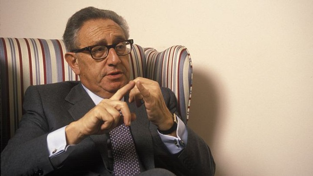 Cựu Ngoại trưởng Mỹ Henry Kissinger (Ảnh: Getty)