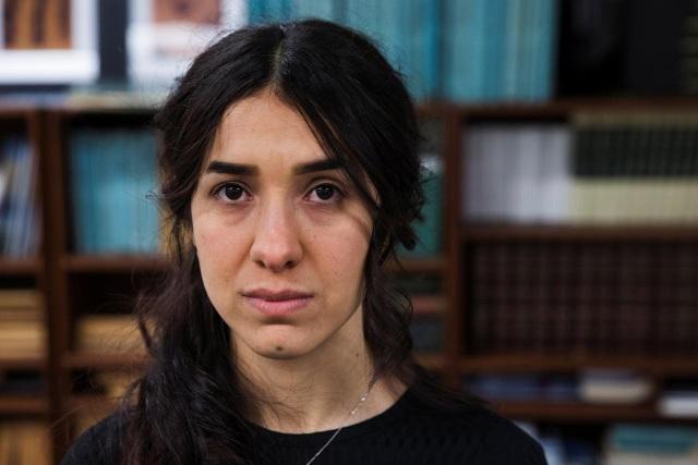 Cô Nadia Murad (Ảnh: Reuters)