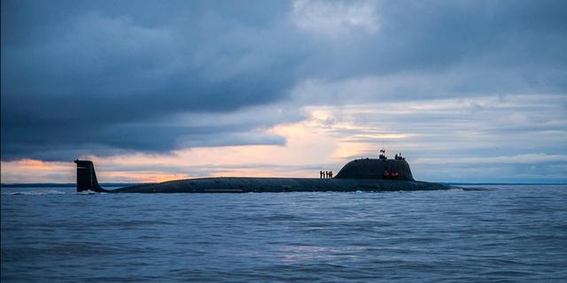 Tàu ngầm tấn công hạt nhân Severodvinsk của Nga (Ảnh: Wikimedia)