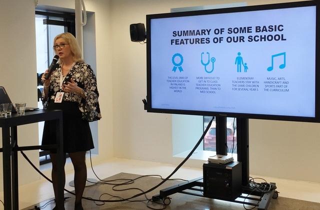 Giáo sư Kirsti Lonka chia sẻ về những thách thức trong đổi mới giáo dục ở Phần Lan.