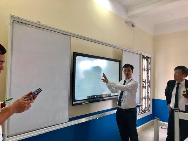 Một phòng học dạy tiếng Hàn