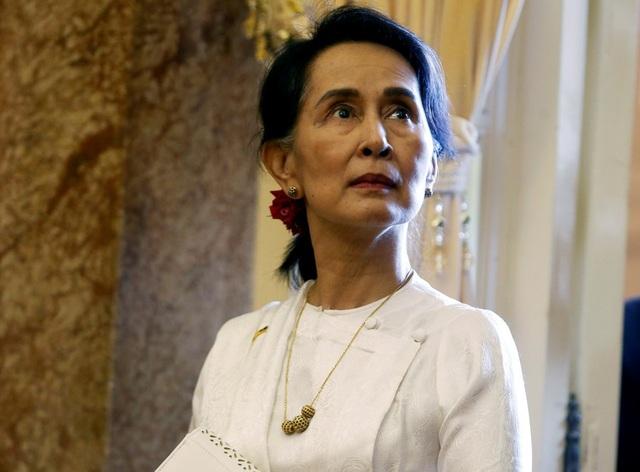 Bà Aung San Suu Kyi (Ảnh: Reuters)