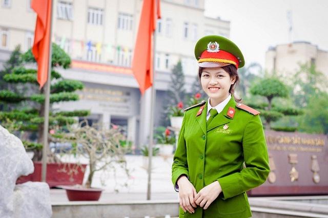 Bảng thành tích ấn tượng của nữ thủ khoa kép trường HV Cảnh sát nhân dân - 3