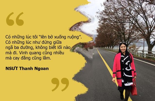 """NSƯT Thanh Ngoan: """"Có lúc tôi như đứng giữa ngã ba đường, không biết lối nào mà đi"""""""