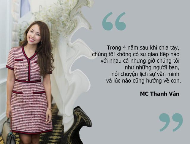 MC Thanh Vân: Mất 4 năm để đối thoại được với chồng cũ sau ly hôn