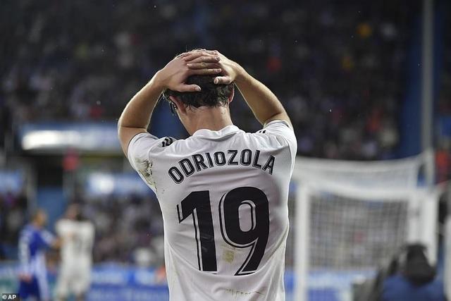 Nỗi thất vọng của hậu vệ phải Odriozola