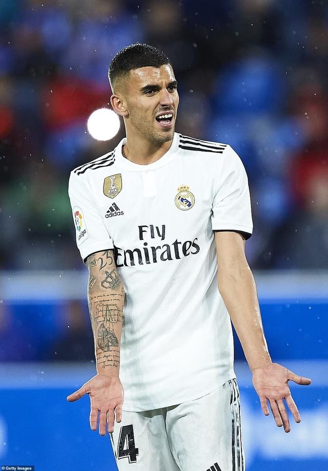 Real Madrid không tạo ra được cơ hội nào trong hiệp 1