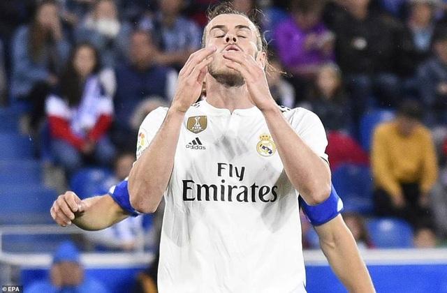 Nỗ lực cá nhân của Bale không giúp Real Madrid tránh được thất bại