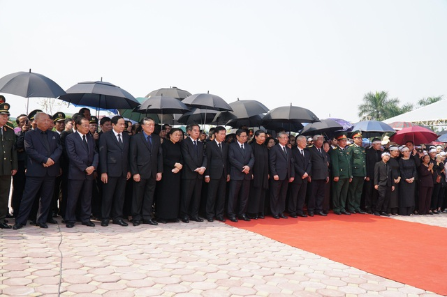 Nguyên Tổng Bí thư Đỗ Mười đã an nghỉ tại quê nhà - 15