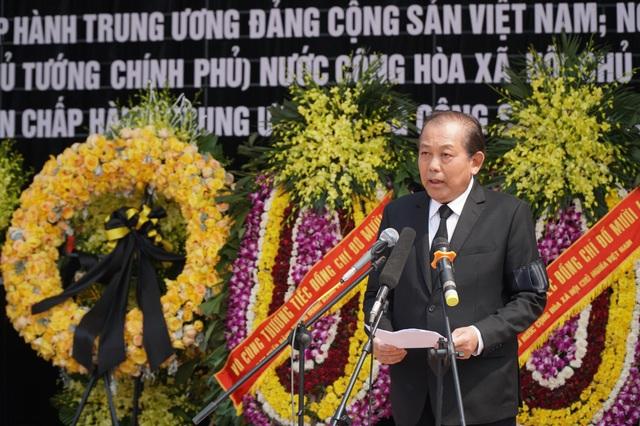 Phó Thủ tướng Trương Hòa Bình phát biểu cảm ơn