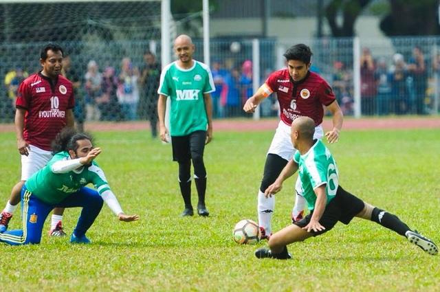 Anh Saddiq là một thanh niên yêu thích thể thao (Ảnh: Facebook)