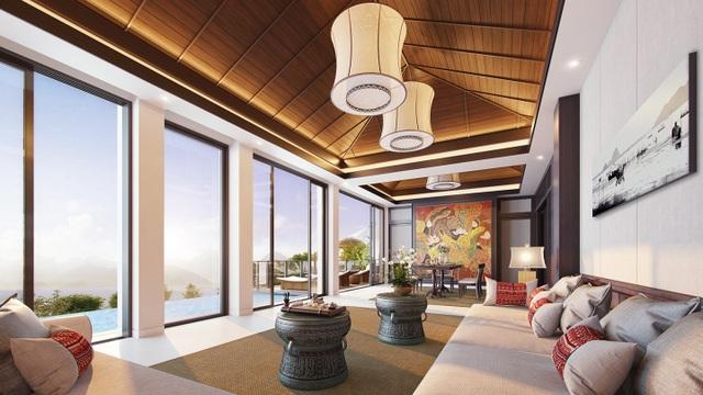 Kiến trúc mở và thiết kế mang phong cách hoàng gia Huế của biệt thự nghỉ dưỡng Banyan Tree Residences Lăng Cô