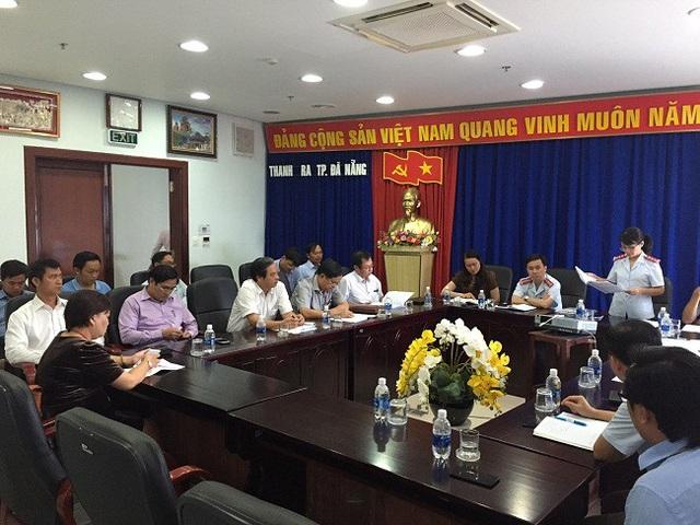 Thanh tra TP Đà Nẵng công bố kết luận nhiều sai phạm trong quy hoạch, hoạt động của hai nhà máy thép Dana - Ý, Dana - Úc (ảnh: Thanh tra TP)