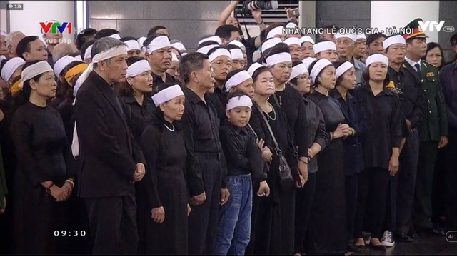 Linh cữu nguyên Tổng Bí thư Đỗ Mười đã về quê nhà Thanh Trì - 50