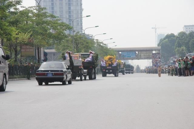 Linh cữu nguyên Tổng Bí thư Đỗ Mười đã về quê nhà Thanh Trì - 15