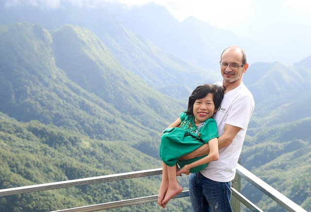 Ngoài công việc, cả hai thường dành thời gian đi du lịch cùng nhau. Trong ảnh là lần cặp đôi đi du lịch ở Sapa.