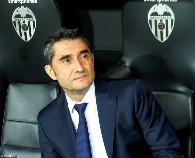 Nỗi thất vọng của HLV Valverde, khi Barcelona trải qua 4 trận không thắng tại La Liga