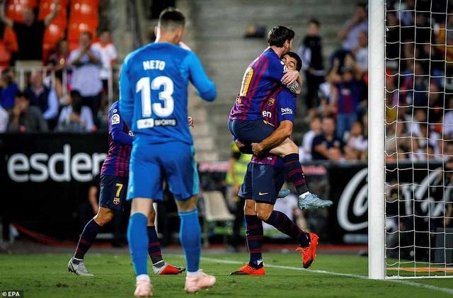Chơi ép sân, tuy nhiên Barcelona đã không thể tìm được bàn thắng thứ hai