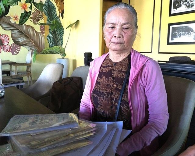 Bà Lê Thị Cháu gần 40 năm đi đòi nhà