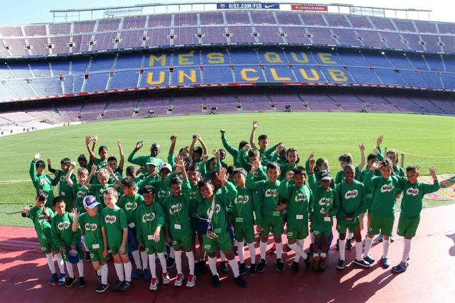 3 ngày tập huấn tại CLB Barcelona, 5 cầu thủ nhí học được gì? - 4